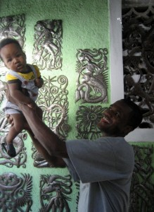 Beyond Borders - fighting poverty with art. Fair trade keeps families healthy, safe, and together.