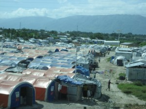 At the time of the 2010 earthquake, 1.4 million people were displaced and tent cities sprung up to provide temporary housing.