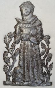"""St. Francis in the Garden"" SM 561 by Edward Dieudonne"