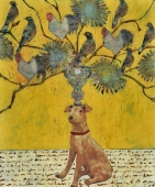 Painting perfect for the dog lover on your list