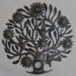 Recycled Haitian metal art sculpture