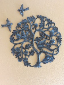 birds plus tree of life sculpture