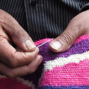 Latin American textiles are made according to centuries of tradition