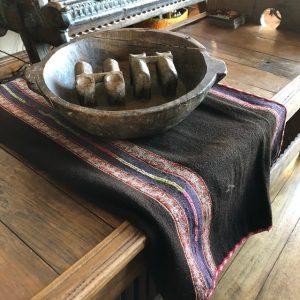 Vintage manta from Peru
