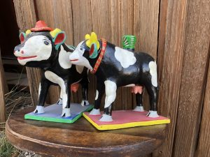 Ortega cow figures